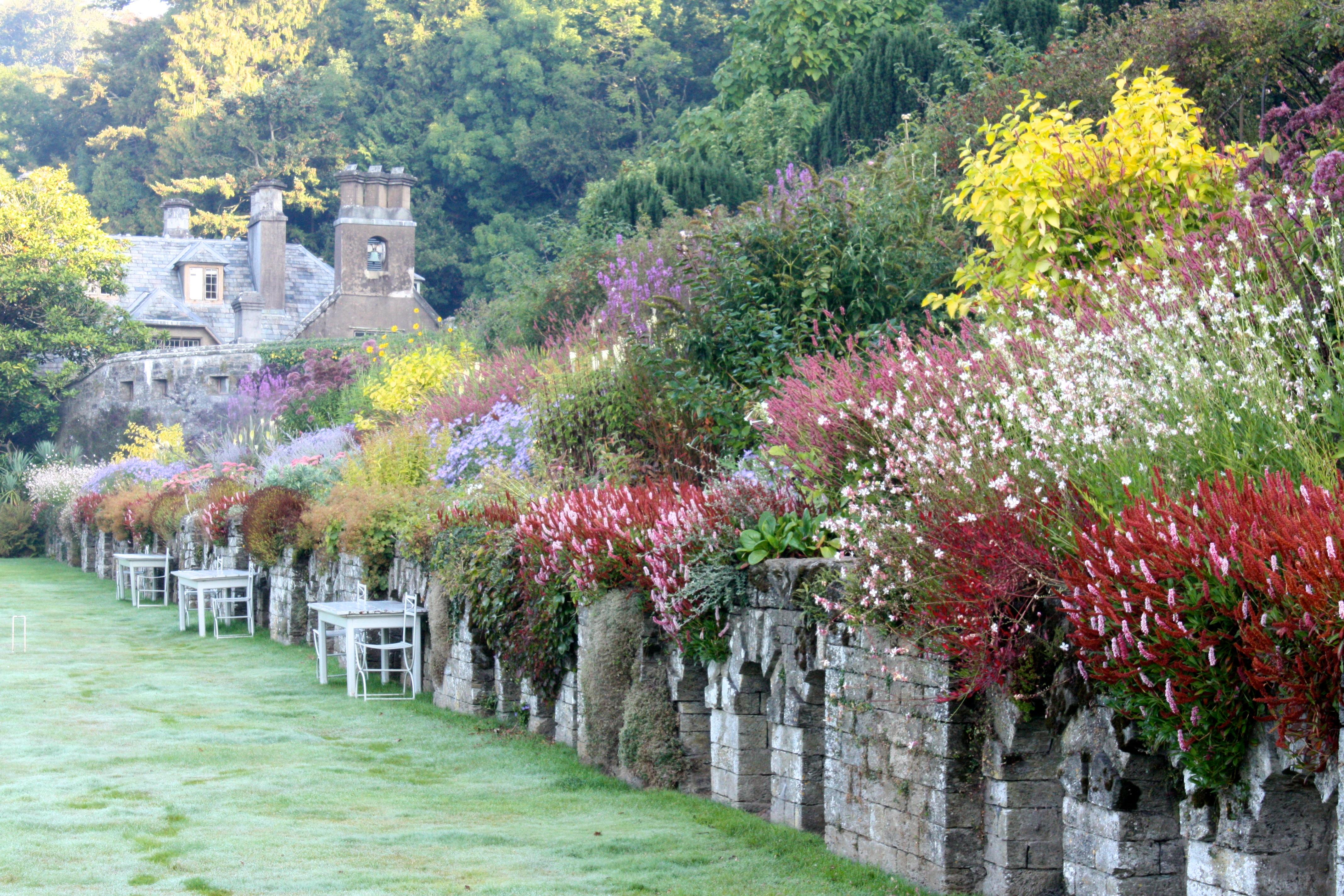 Gardens at Hotel Endsleigh