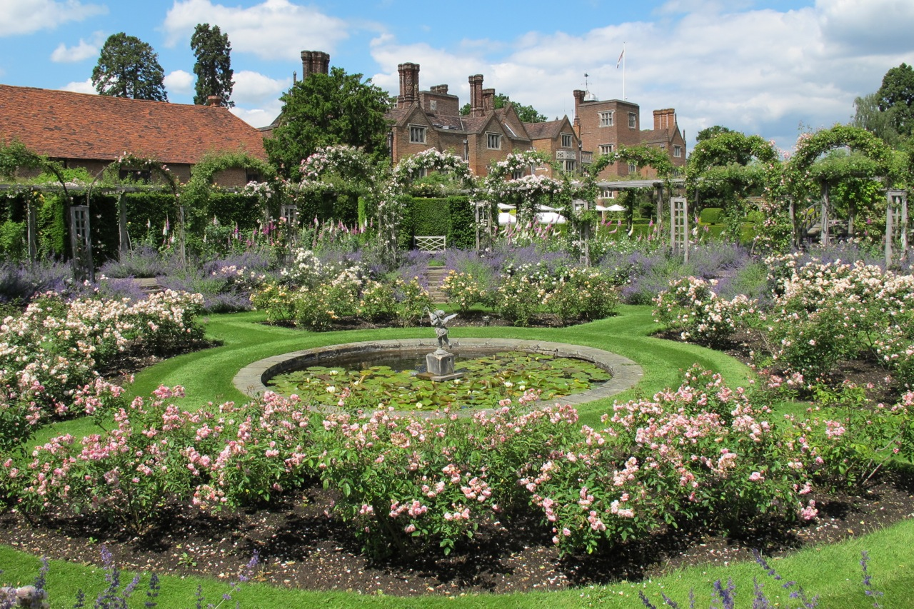Great Fosters as viewed from the rose garden.hilary Nangle photo
