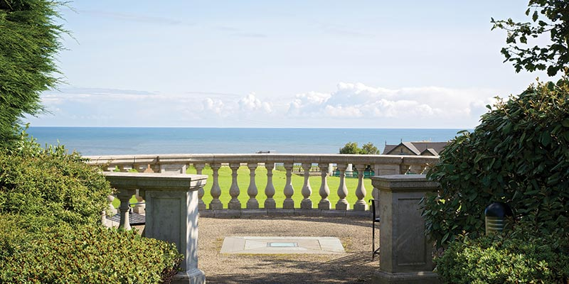 View from Seaham Hall Terrace