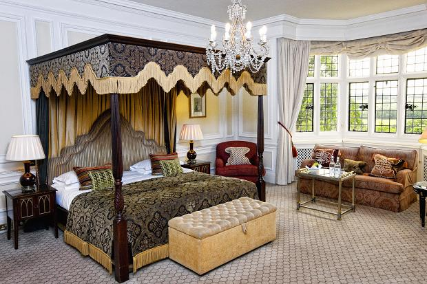 Historic Bedroom at Danesfield House
