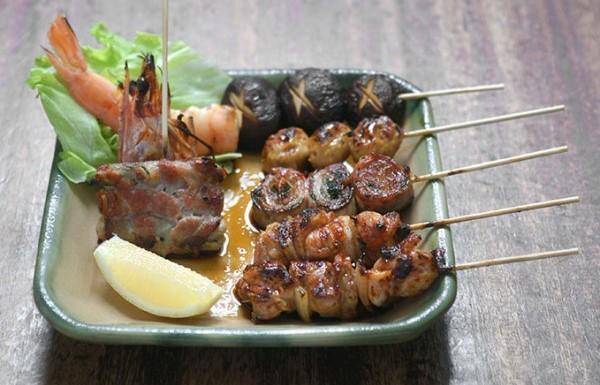Grilled skewers, Jin Kichi