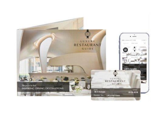 Luxury Restaurant Guide Pack