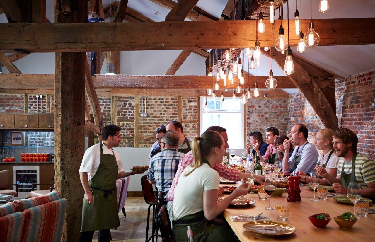 Season Cookery School at Lainston House