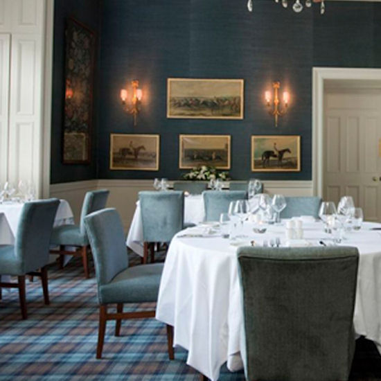 Roxburghe dining room