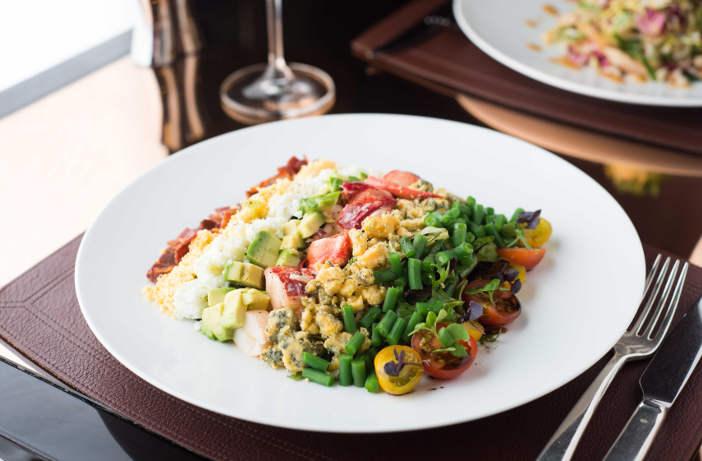 Lobster Cobb Salad, CUT at 45 Park Lane