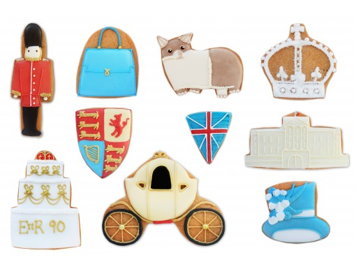 Queens 90th Birthday Biscuits