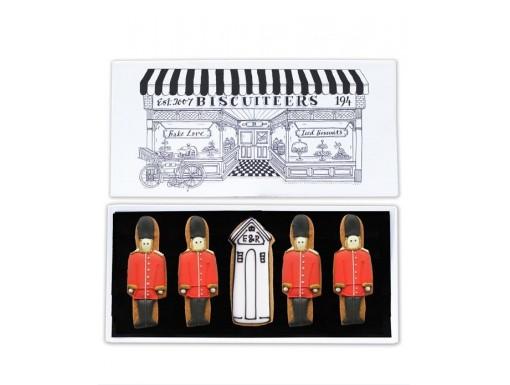 Queen's Guard Biscuit Card