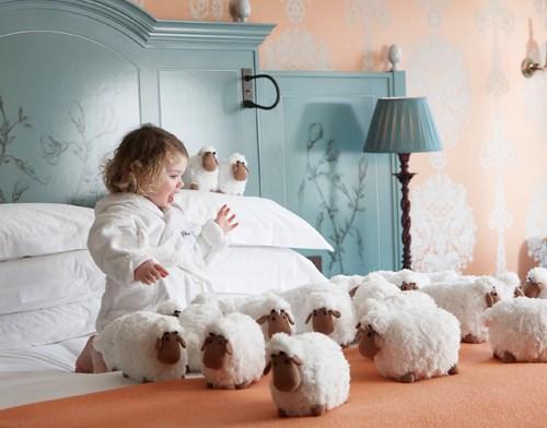 Barrbara The Sheep at The Goring