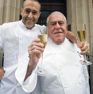 Albert Roux and Michel Roux Jr