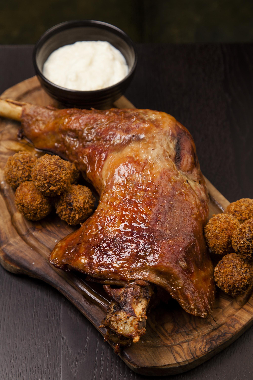 Confit Turkey Leg by Chantelle Nicholson