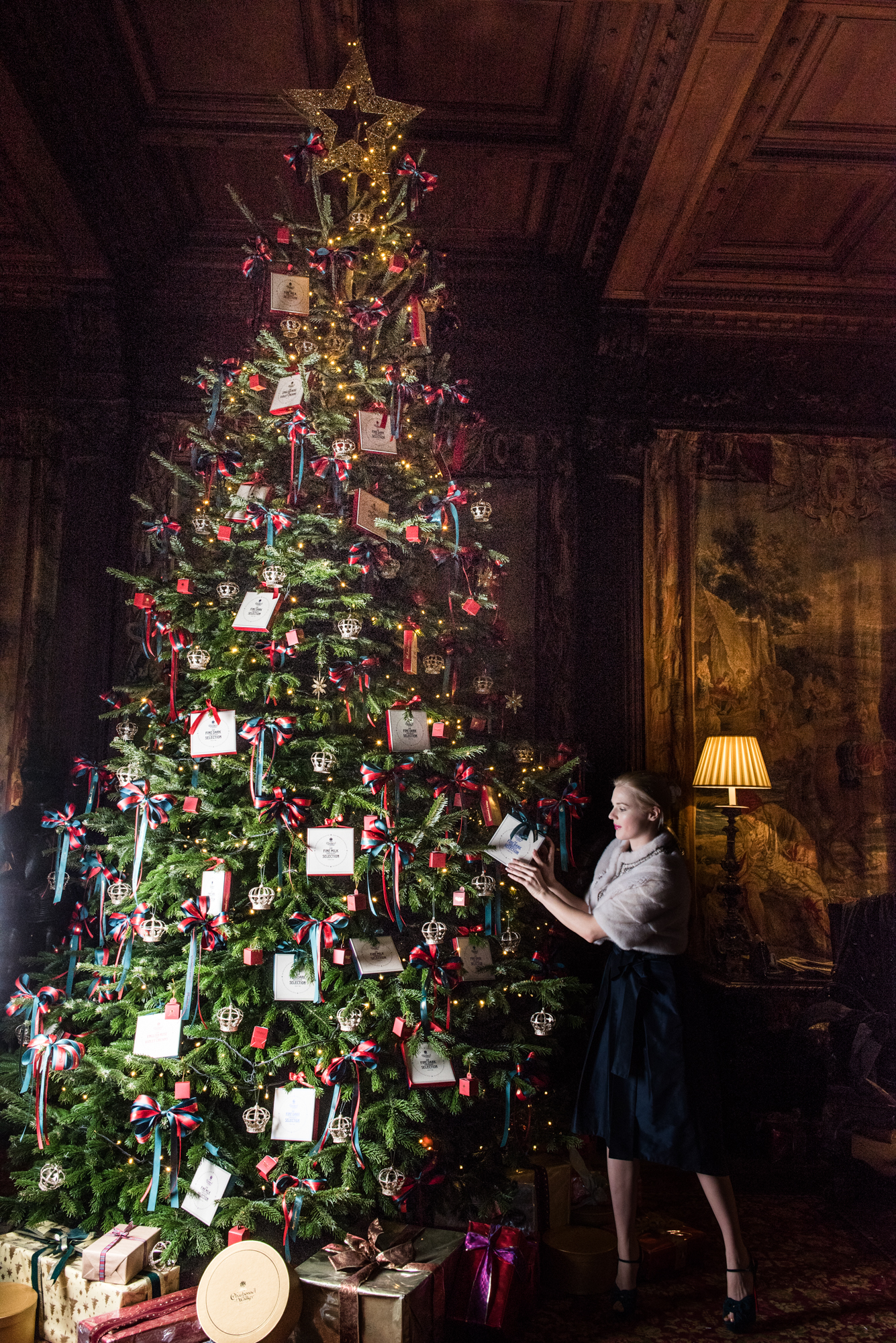 Charbonnel et Walker Christmas Tree at Cliveden
