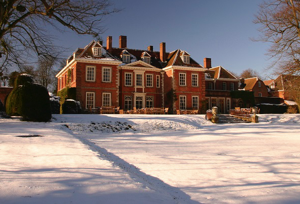 Lainston in the snow