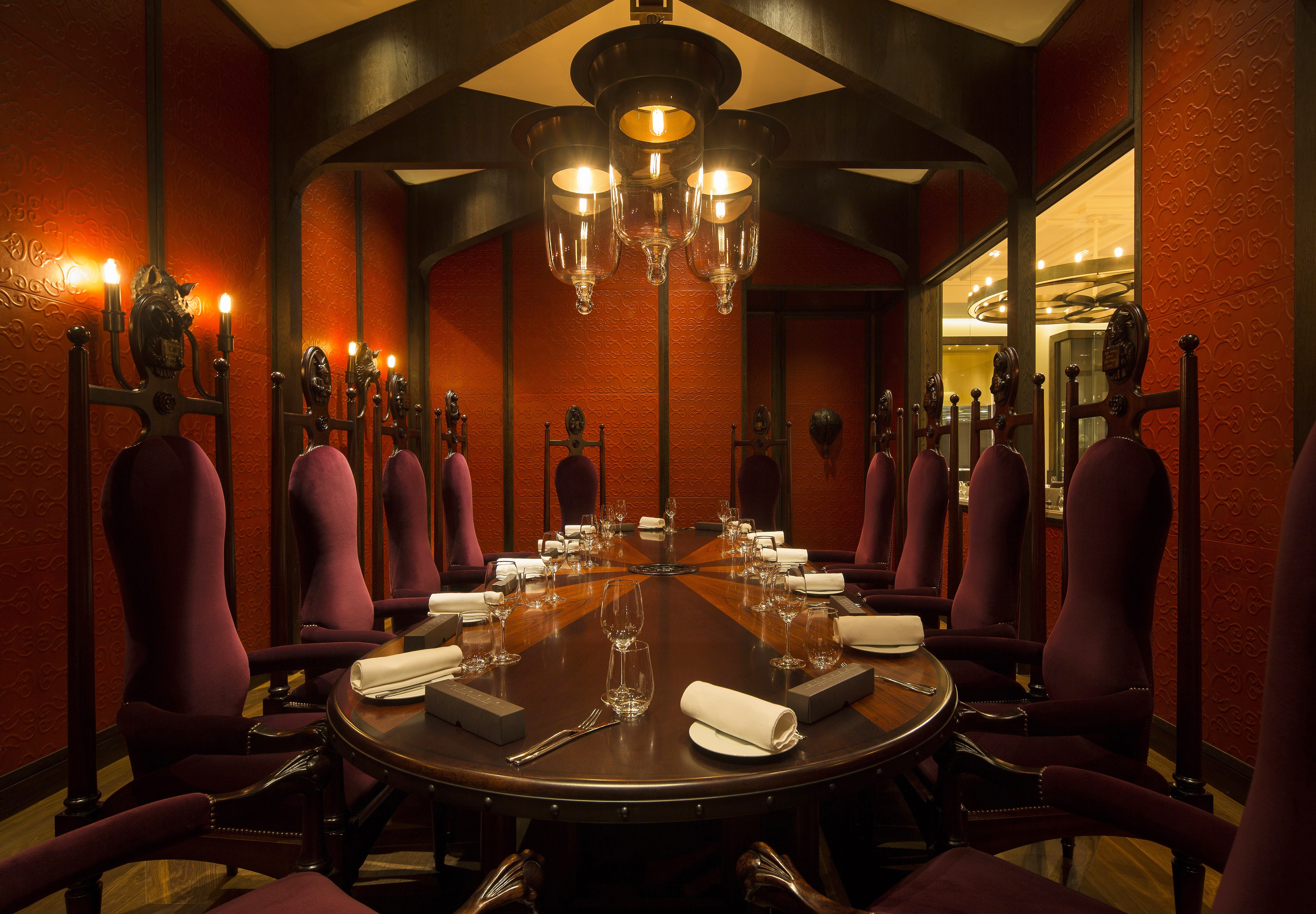 PrivateDiningRoom1 Dinner by HB Copyright John Carey