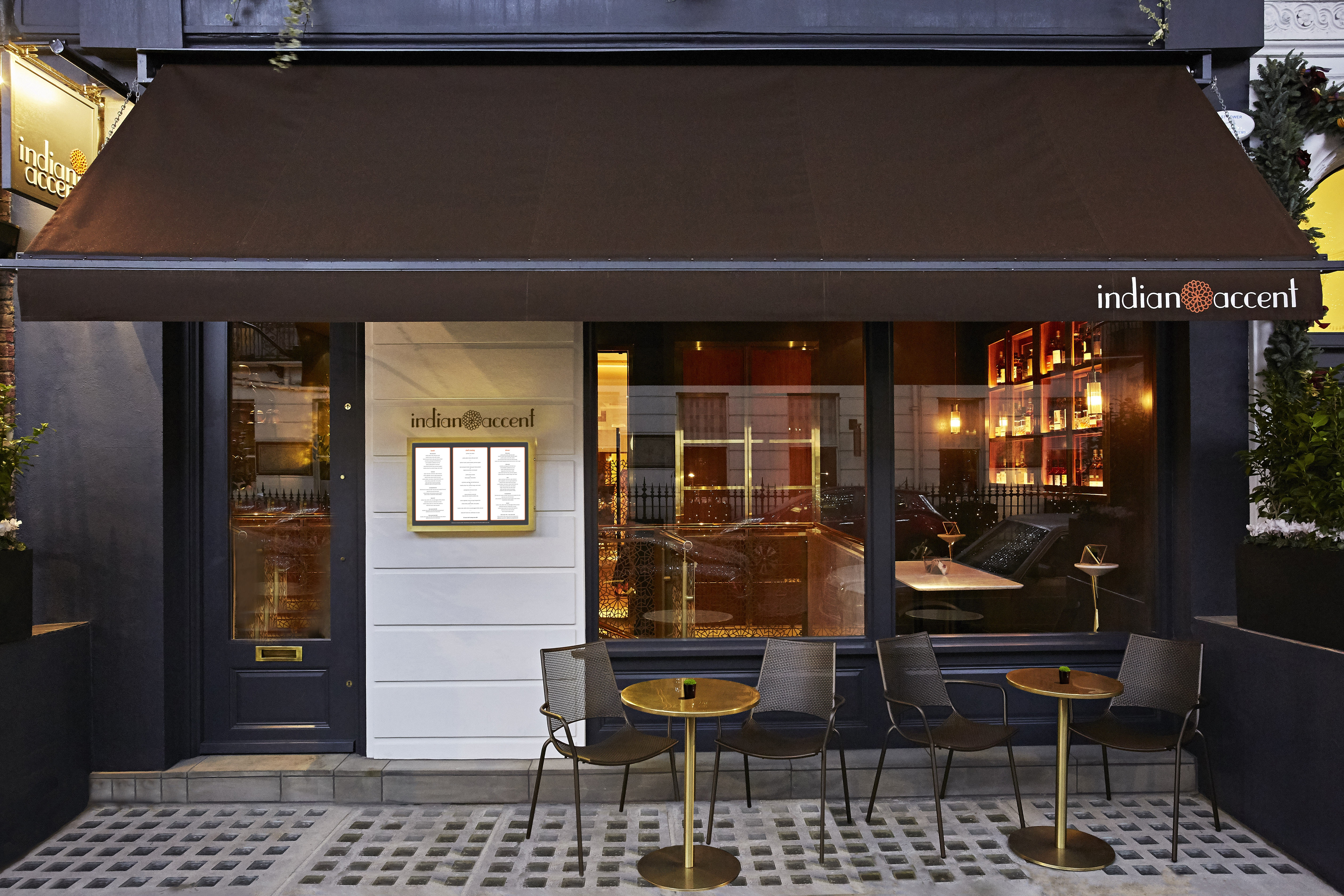 Indian Accent, London, Facade (1)