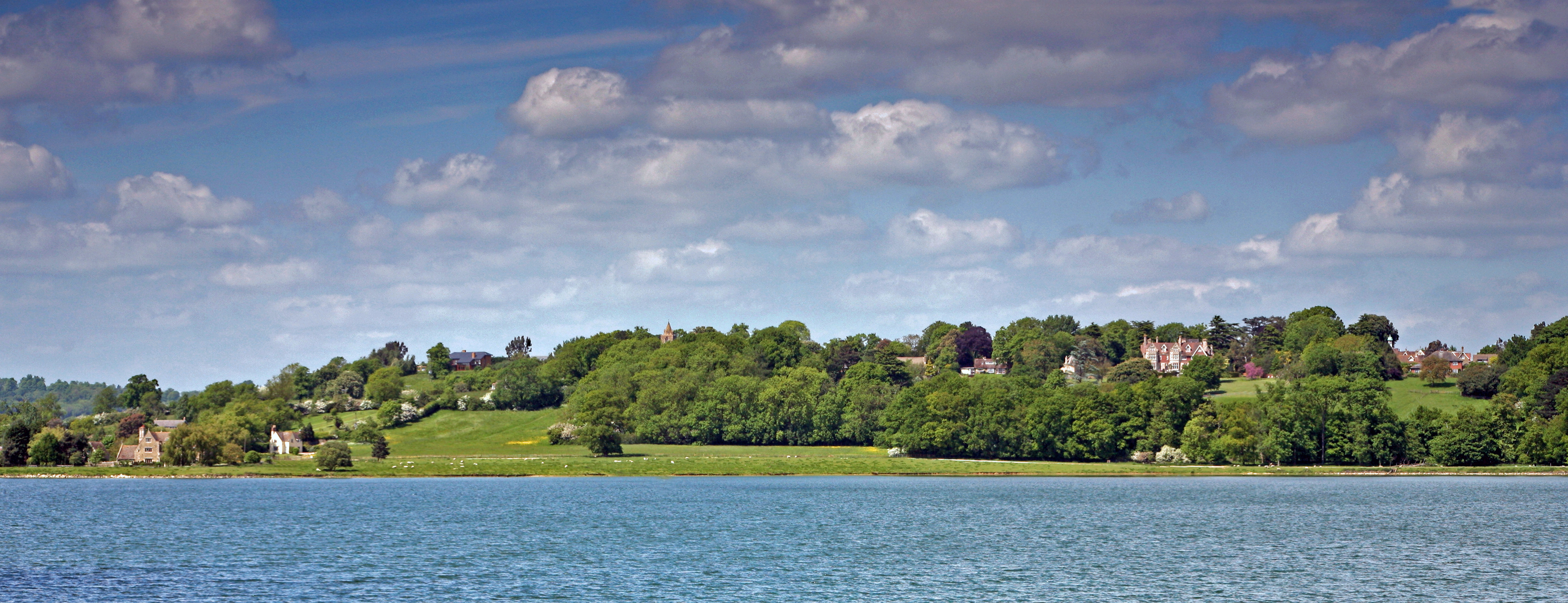 hambleton hall across water