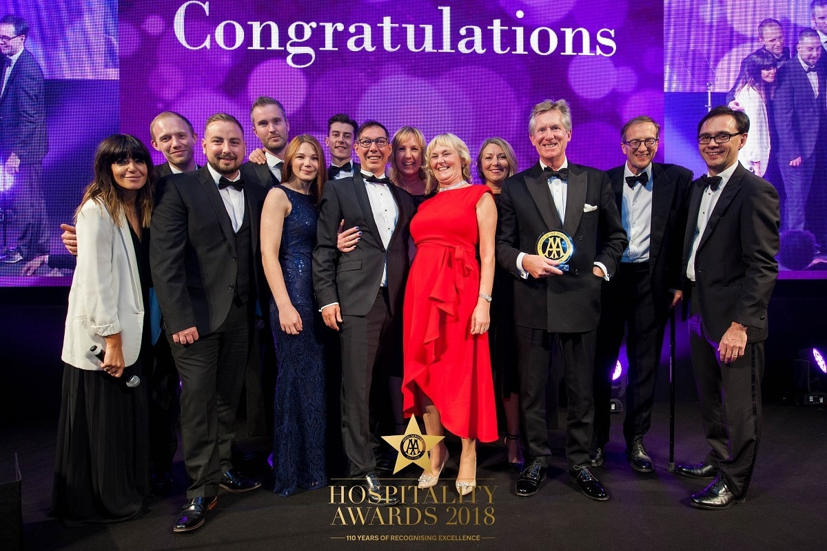 AA Hotel of the Year for England - Great Fosters-min
