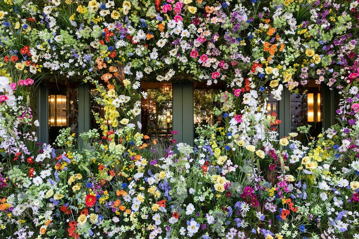 Ivy Chelsea Garden - Wildflower meadow install - Chelsea flower show 2019 (22)-min