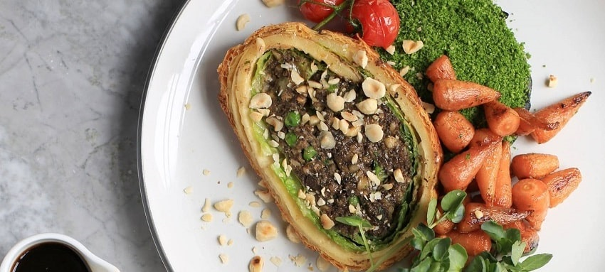 Chef S Recipe Vegetarian Wellington From The Kitchen Of Gordon Ramsay Luxury Restaurant Guide