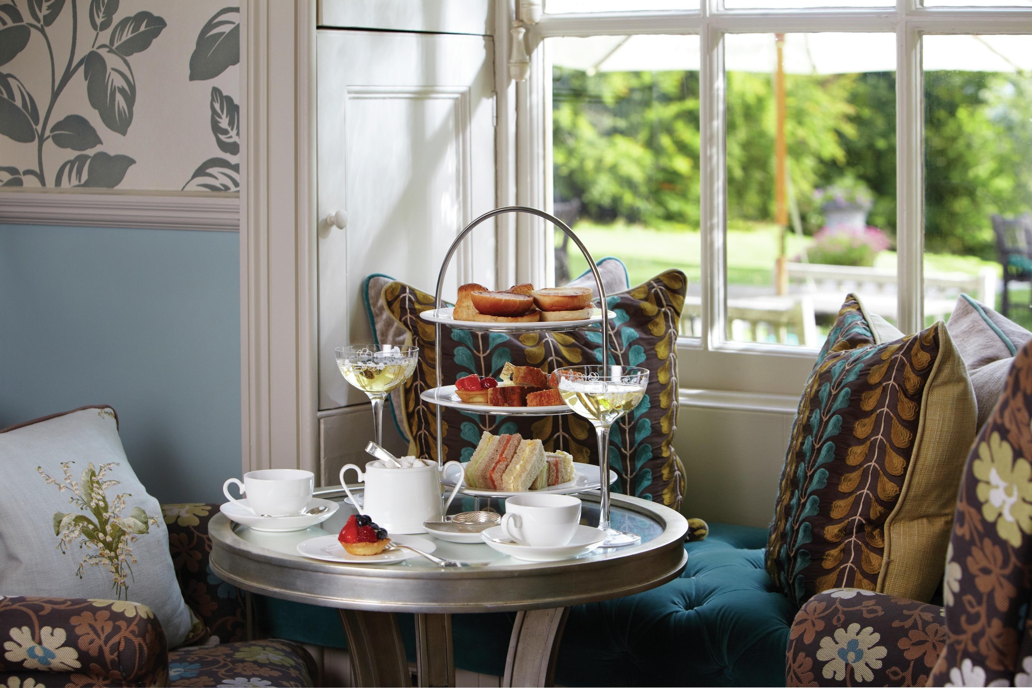 Lainston House Hotel Afternoon Tea