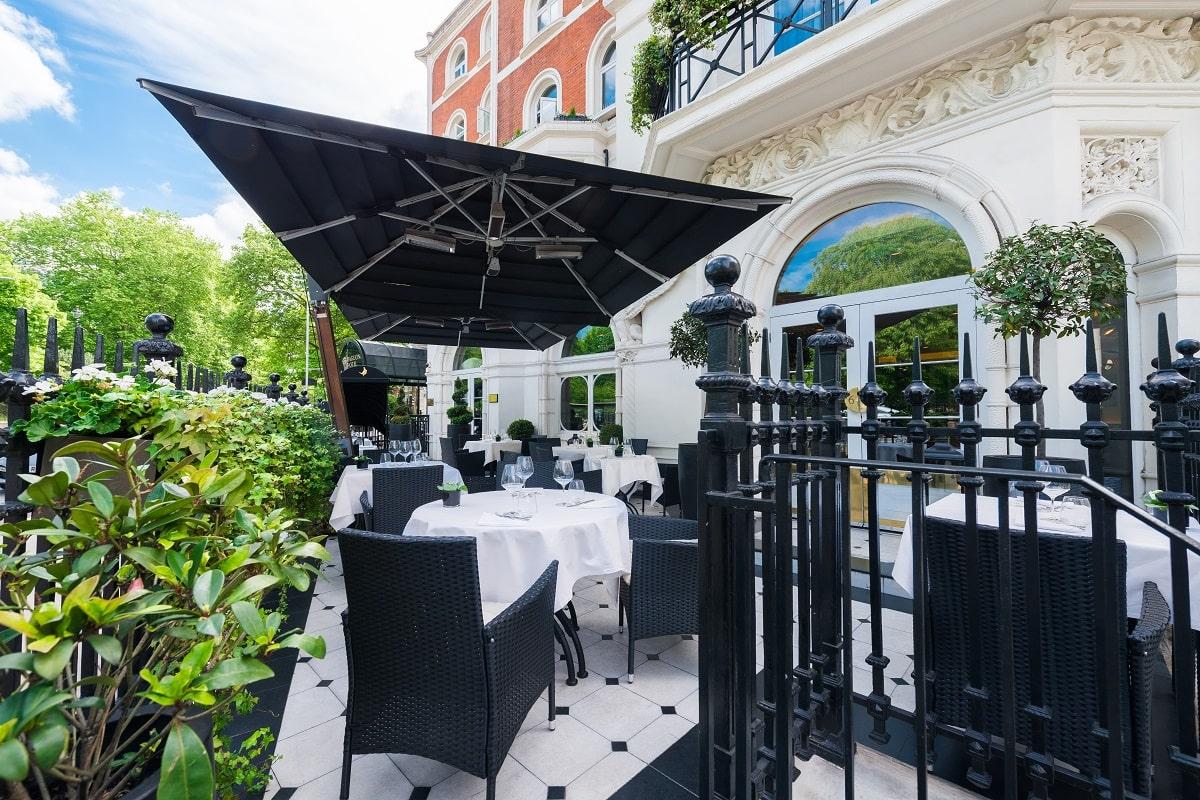 Baglioni Hotel London - Brunello Restaurant Exterior (3)-min