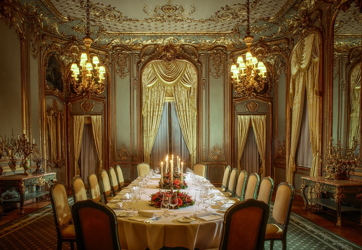 French Dining Room no Ipad Cliveden private dining-min